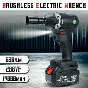 630n M Electric Cordless Brushless Impact Wrench 3000rpm 288vf Ratchet Driver