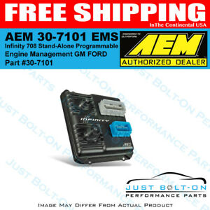 Aem 30 7101 Ems Infinity 708 Stand alone Programmable Engine Management Gm Ford