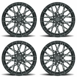 22 Xo Phoenix Grey 22x10 5 Forged Concave Wheels Rims Fits Bmw X6