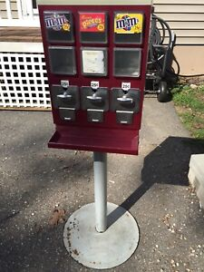 Evervend Bulk Candy Gumball Vending Machine Free Labels Usps