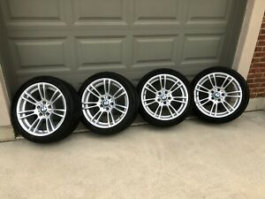 Bmw Oem Alloy M Wheels Style 270m With Michelin Winter Tires
