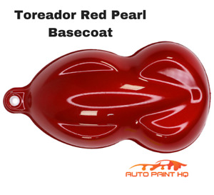 Toreador Red Pearl Basecoat Clearcoat Quart Car Motorcycle Auto Paint Kit