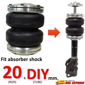 1 Universal Air Bag Sleeve Fit Absorber Shock Rod 20 Mm Spring ride Suspension
