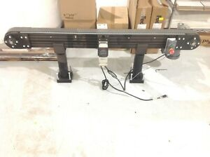 6 Ft Conveyor 3 Inch Belt 24 Inches High With Baldor Vm3538 5 Hp 1725 Rpm