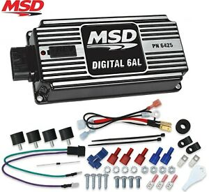 Msd 64253 6al Ignition Box Digital 6al With Rev Limiter Sbc Bbc Sbf Chevy Ford