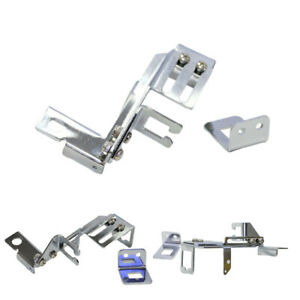 Chrome Gm Throttle Cable Kickdown Bracket For Chevy Sbc Holley Kick Down Us