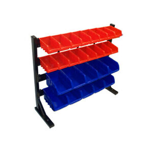 26 Removable Bins Rack Parts Accessories Storage Organizer Bench Top