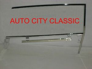 Chevrolet Ht Upper Door Glass Frame Lower Door Channel 1962 1963 1964 Rh