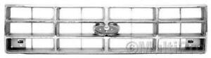 Chrome Grill Assembly For Ford Bronco Ii Ranger Grille Fo1200150