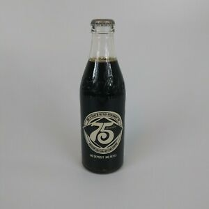 Vintage Coca-Cola 75th Anniversary Bottle - Houston Coca-Cola Bottling Company.