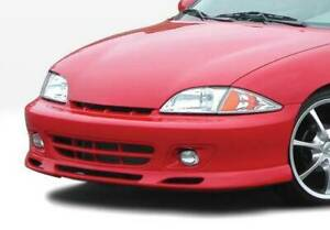 W Type Front Lip For 2000 2002 Chevrolet Cavalier 2dr 4dr 890436