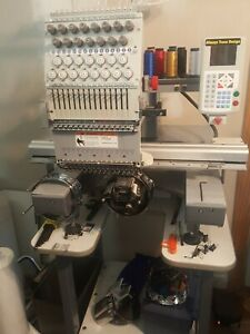 Avance 1501c Compact Commercial Embroidery Machine 15 Needle