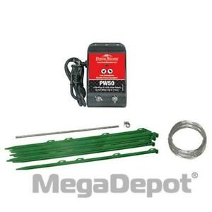 Power Wizard Gs 50 Small Animal Electric Fence Kit
