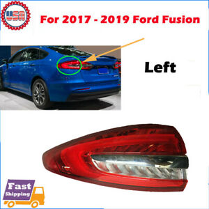 Fit For 2017 2018 2019 Ford Fusion Lh Driver Side Led Taillight Hs73 13405 ac