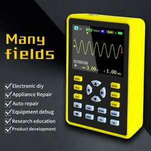 New Handheld Digital Oscilloscope 100mhz 500ms s Dso 2 4 Ips Lcd Display