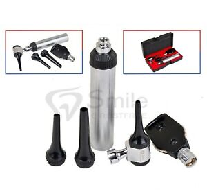 Ent Otoscope Ophthalmoscope Opthalmoscope Diagnostic Set Veterinary Pet Kit Ce