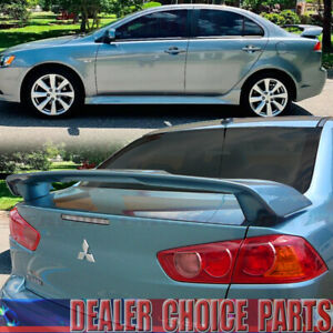2008 15 16 2017 Mitsubishi Lancer Spoiler Oe Factory Style Trunk Wing Unpainted