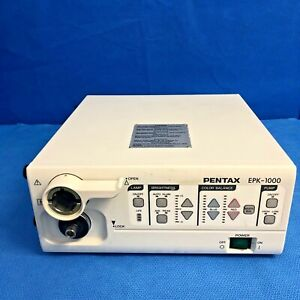 Pentax Epk 1000 Video Endoscopy Processor Light Source Endoscopic