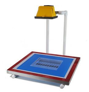 Tabletop 500w Exposure Unit Stand For Screen Printing Exposing Images