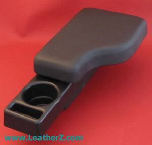 Bmw Z3 M Roadster Coupe Leather Armrest Cupholder Cup Holder Black Leather