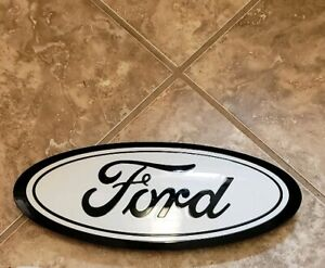 2019 F150 Ford Emblems Custom Oxford Black Front Rear With Camera Option