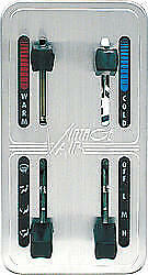 Vintage Air Natural 4 Lever Gen Ii Climate Control Panel P n 48102 svq