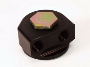 Canton 22 592 Chevy 90 Deg Remote Oil Filter Adapter