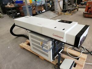Continuum Laser Nd Yag 2 0 Joules 2 40ns With Controller 1 Billion Watts Max