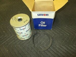 Vintage Nos Union 76 P 115 Oil Filter With Box Buick Cadillac Chevrolet Olds