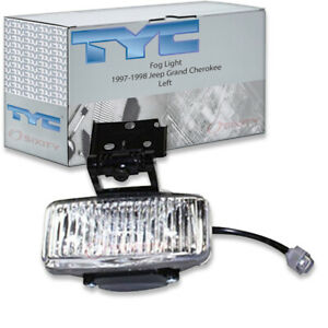 Tyc Left Fog Light Assembly For 1997 1998 Jeep Grand Cherokee Dd