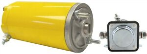 New Snow Plow Lift Motor Replaces Meyer Application 12v Ccw With Solenoid 46854