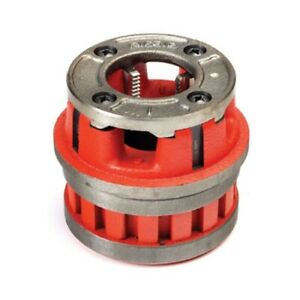 Ridgid 51877 12 r Die Head 1 1 2 High Speed For Plastic Coated Pipe Npt