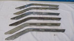 1955 Ford F100 Truck Grille Molding Used Left Drivers Side B5c 8419 Gull Wings