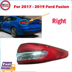 Hs73 13404 Ad Led Right Tail Light Taillight Fit For 2017 2018 2019 Ford Fusion