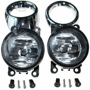 Clear Lens Driving Fog Lights Bumper Lamps Bulbs For Ford Focus 2012 2013 2014