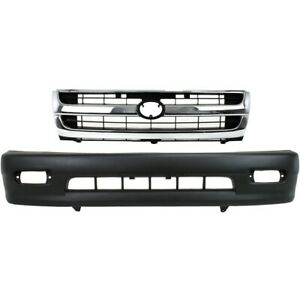 Bumper Cover Kit For 1998 2000 Toyota Tacoma Front Rwd