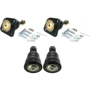 Set Of 4 Ball Joints Front Left and right Upper For Chevy Lh Rh 22145478