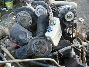 Jeep Swap Gm 5 7 Tbi Complete Takeout Engine 4x4 5 Speed Manual Transmission
