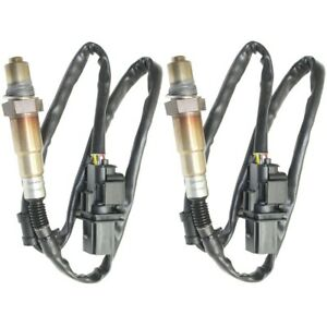O2 Oxygen Sensors Set Of 2 Left And Right Upstream For Vw Lh Rh Beetle X5 Pair