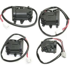 Door Lock Actuators Set Of 4 Front Rear Left and right Lh Rh For Mazda Protege