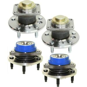 Wheel Hubs Set Of 4 Front Rear Left And Right For Chevy 12413029 88964096