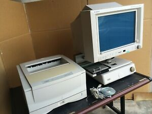 Canon Microfilm Scanner 800 Ii Large Format Complete System