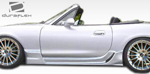 98 05 Mazda Miata Duraflex Wizdom Side Skirts Rocker Panels 2pc 105961