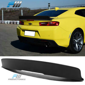 Fits 16 20 Chevy Camaro Duckbill Trunk Spoiler Wing Pp