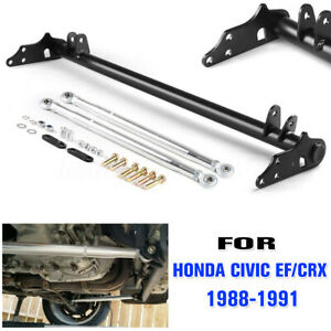 For Honda Civic Ef Crx 1988 1991 Suspension Front Traction Control Tie Bar Kit