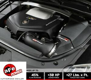 Afe 51 74207 Momentum Gt Pro Dry S Cold Air Intake 2009 2015 Cadillac Cts V 6 2l