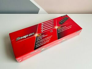 New Snap On 5 Pc Flank Drive Plus Combination Wrench Set Rack Soexm705wrak