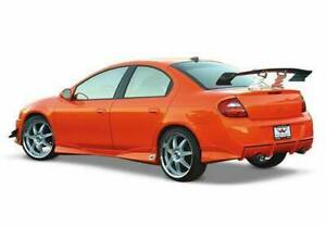Racing Series Rear Bumper Cover For 2000 2004 Dodge Neon 4dr 890796