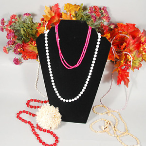 Black Padded Velvet Stepped Necklace Jewelry Pendant Display Form 8 25 x12