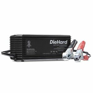 Diehard 71219 6 12v Shelf Smart Battery Charger And 2 4 Amp Maintainer Trickle